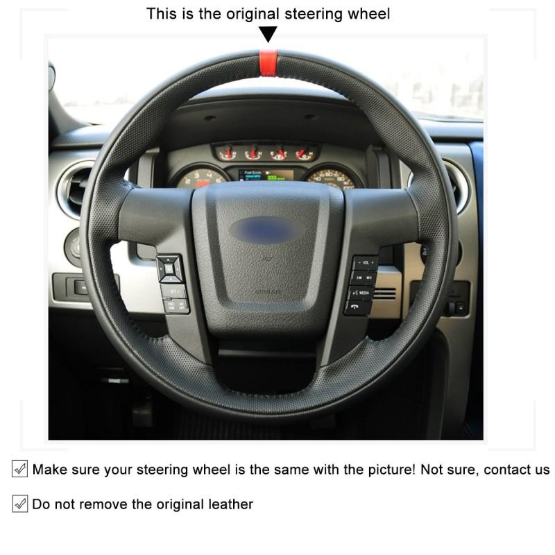 ford f150 steering wheel raptor accessories custom 150 covers oem svt auto suede loncky