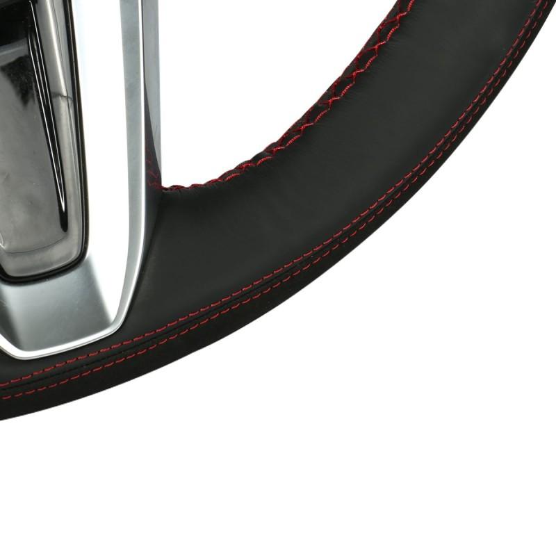 Loncky Auto Custom Fit OEM Black Genuine Leather Car
