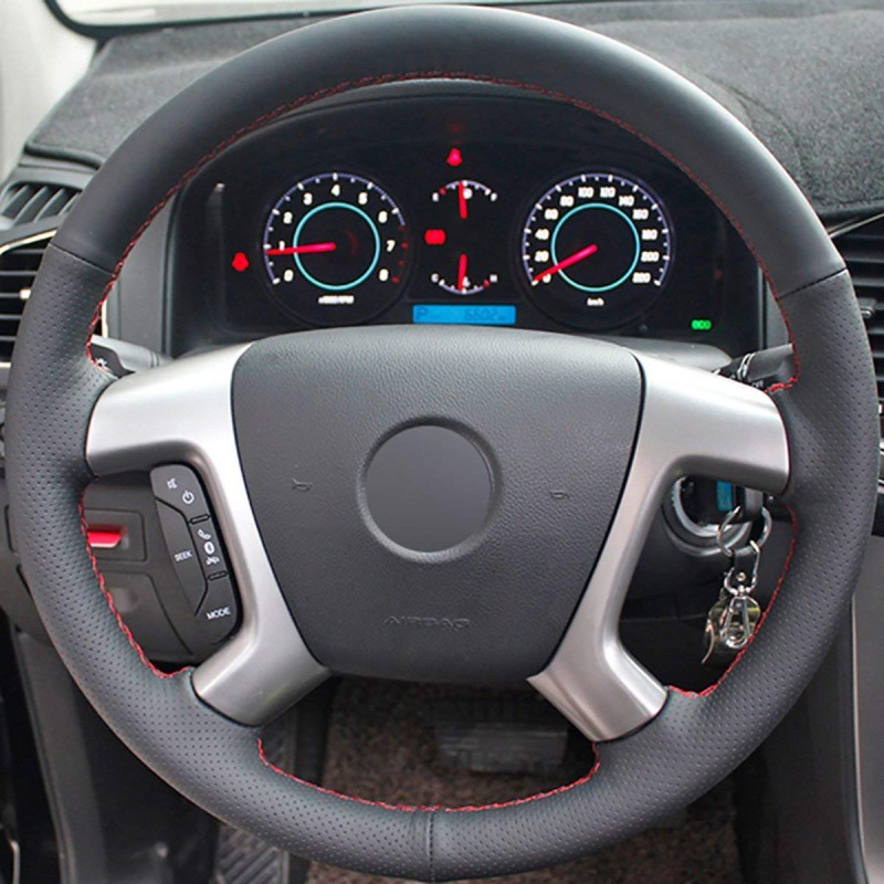 silverado steering wheel accessories chevrolet chevy leather covers 2008 2009 1500 2007 genuine 2500 loncky auto suburban express avalanche tahoe